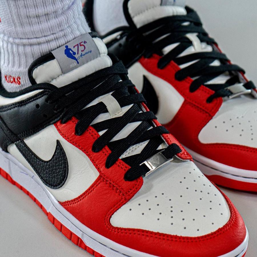 Nike x NBA Dunk Low Retro EMB Chicago Bulls 75th