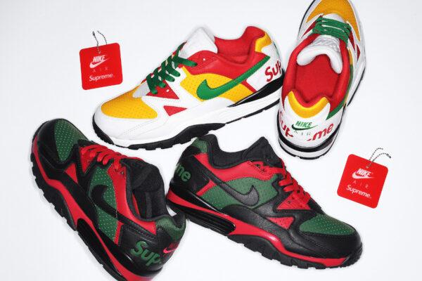 Nike x Supreme Air Cross Trainer 3 Low 'Rasta'