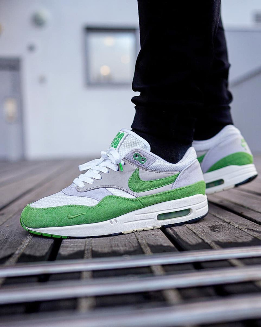 Patta x Nike Air Max 1 5th Anniv Chlorophyll @mrmidsole