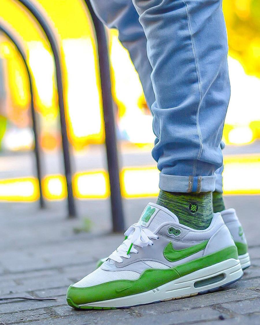 Patta x Nike Air Max 1 5th Anniv Chlorophyll @walksonheat