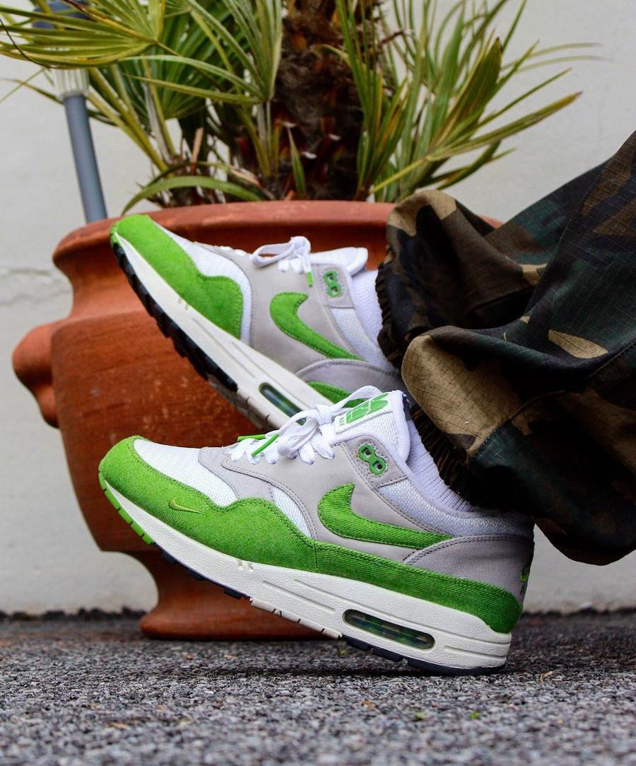 Patta x Nike Air Max 1 5th Anniv Chlorophyll @ykezworld