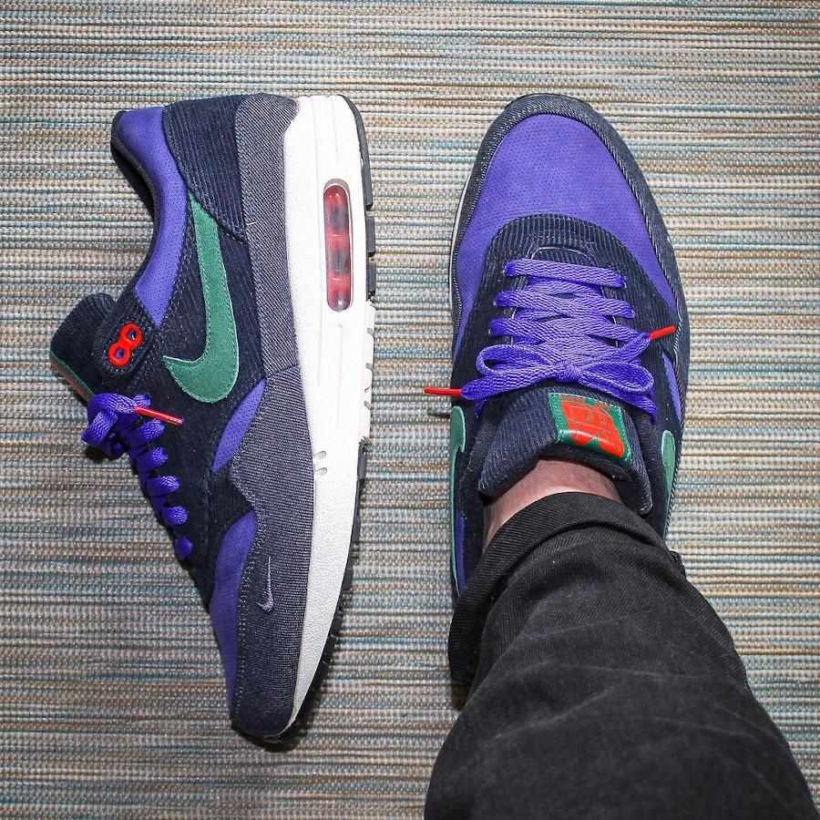 Patta x Nike Air Max 1 Corduroy Denim @bashonders