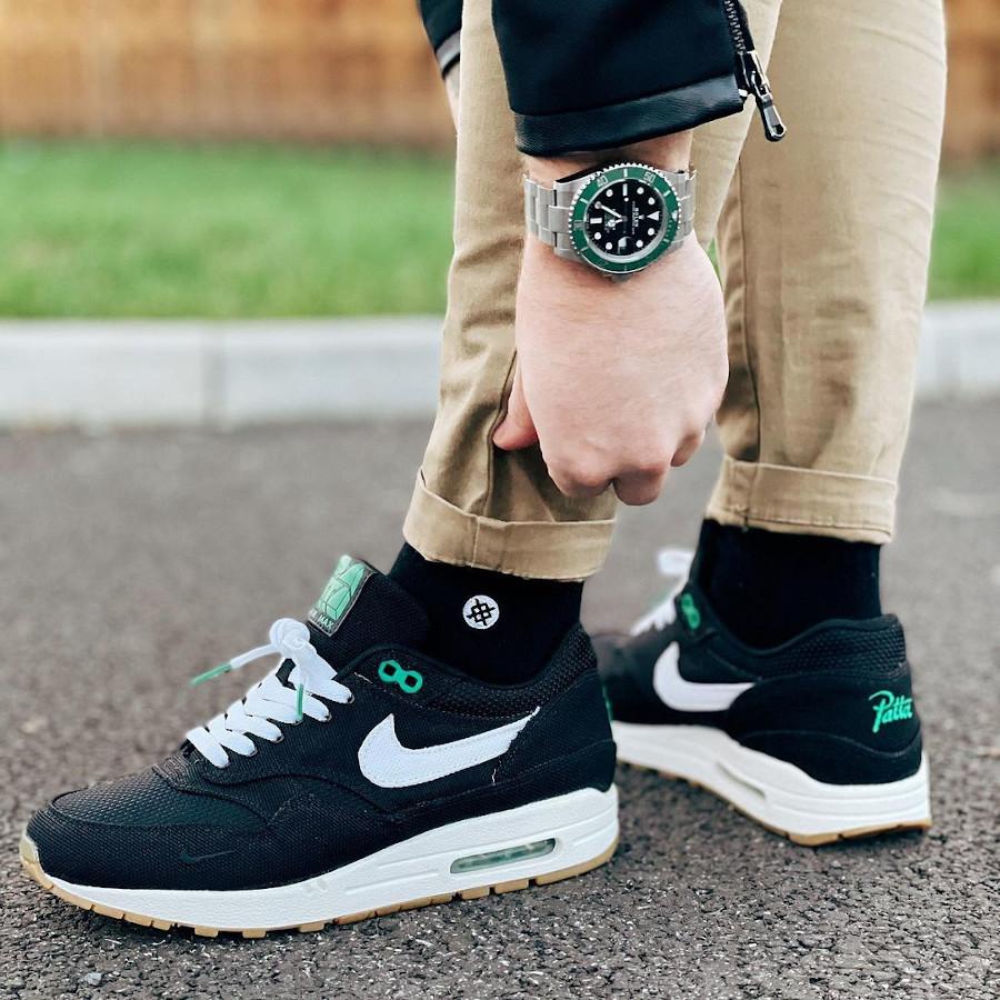 Patta x Nike Air Max 1 Lucky Green @trainersandtime (2)