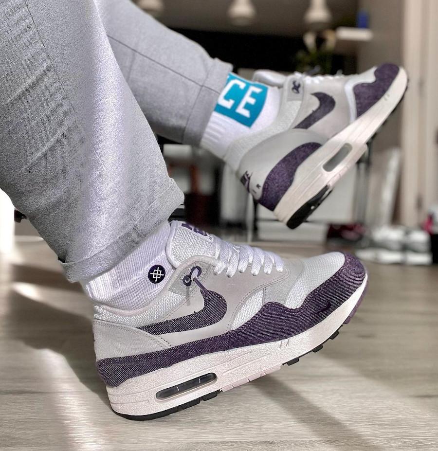 Patta x Nike Air Max 1 Purple Denim @airmaxpurist