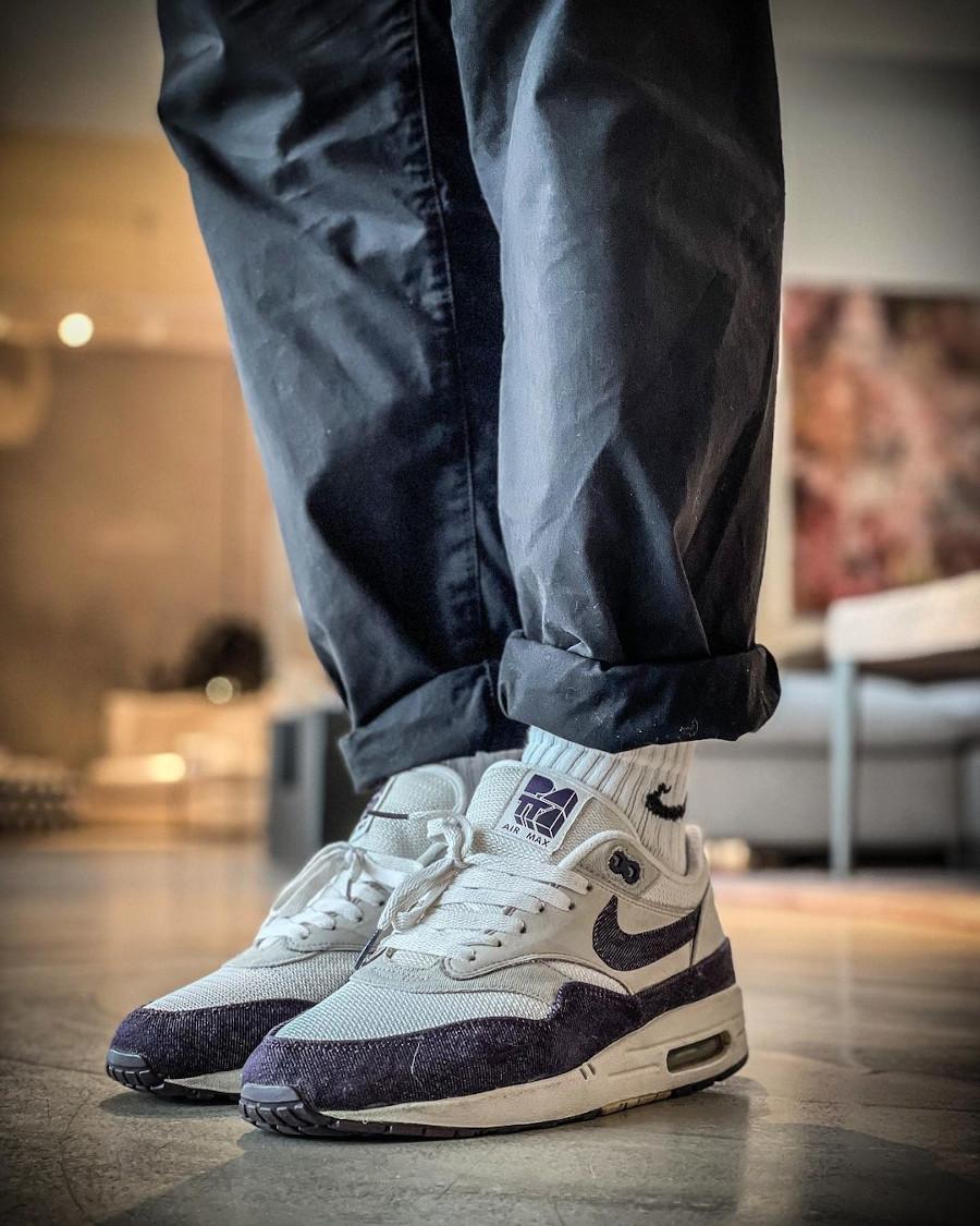 Patta x Nike Air Max 1 Purple Denim @danielj790219