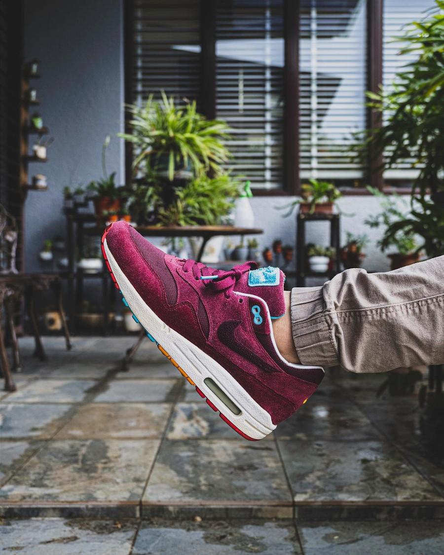 Patta x Parra x Nike Air Max 1 Cherrywood @rhmnoon