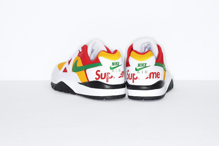 Sup x Nike Cross Trainer Low blanche rouge et verte (1)