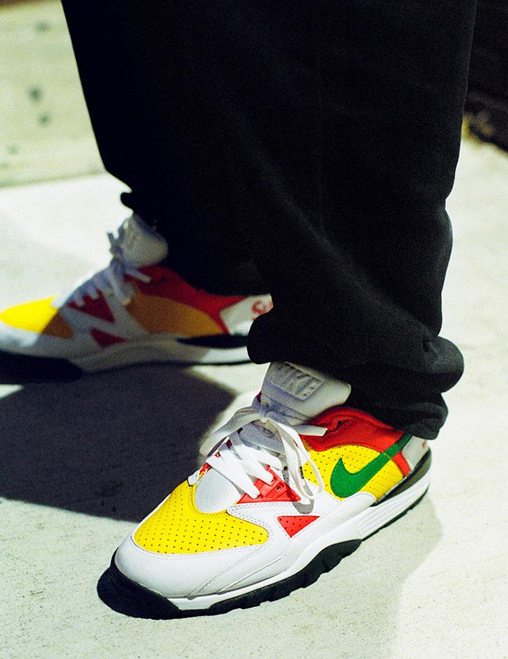 Sup x Nike Cross Trainer Low blanche rouge et verte (4)