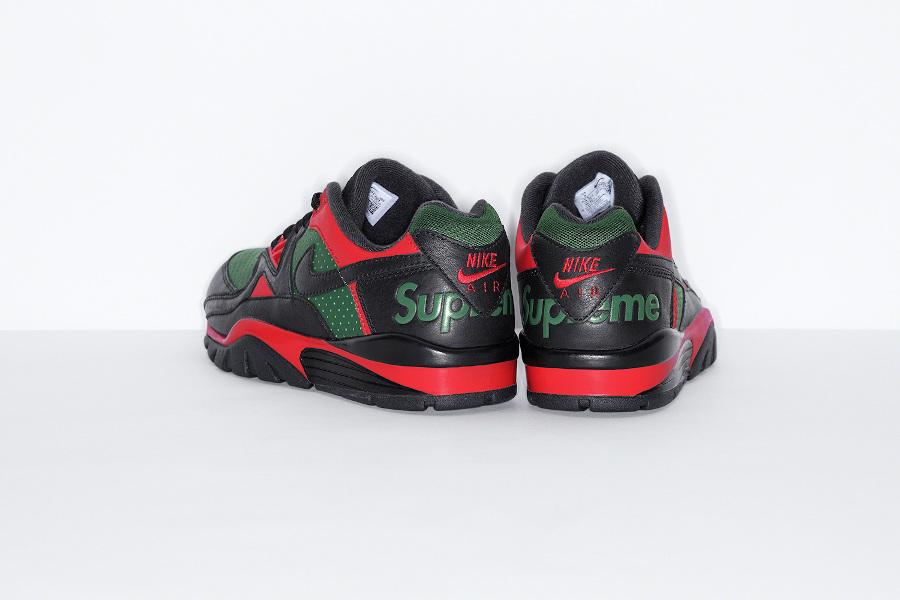 Sup x Nike Cross Trainer Low noire rouge et verte (1)